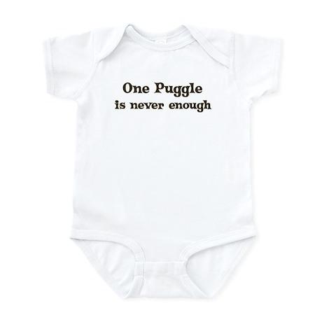 One Puggle Infant Bodysuit