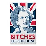 Margaret Thatcher Bitches Sticker
