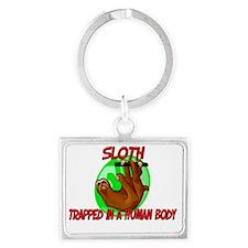 Sloth6167 Landscape Keychain