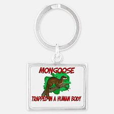 Mongoose39171 Landscape Keychain