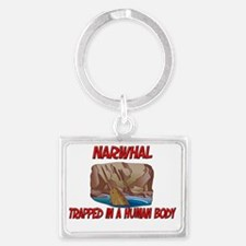 Narwhal43160 Landscape Keychain