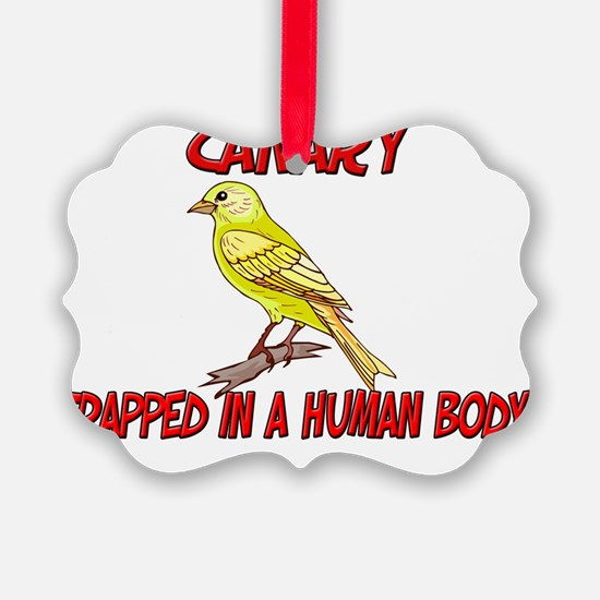 Canary60349 Ornament