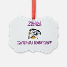 Zebra1311 Ornament