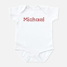 Michael - Candy Cane Infant Bodysuit