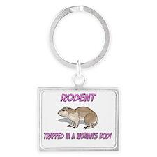 Rodent12492 Landscape Keychain