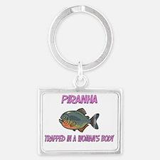 Piranha59123 Landscape Keychain
