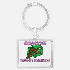 Mongoose145167 Landscape Keychain