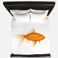 Goldfish King Duvet