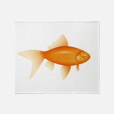 Goldfish Throw Blanket