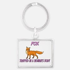 Fox136267 Landscape Keychain