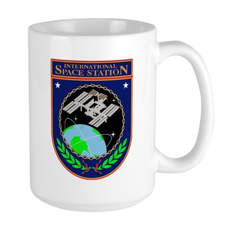 ISS Program Logo Large Mug