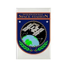 ISS Program Logo Rectangle Magnet