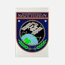 ISS Program Logo Rectangle Magnet