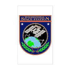 ISS Program Logo Decal