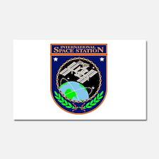 ISS Program Logo Car Magnet 20 x 12