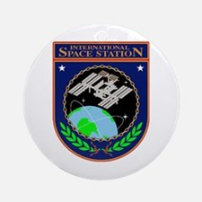 Iss Program Logo Ornament (round)