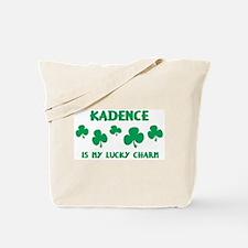 Kadence is my lucky charm Tote Bag