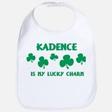 Kadence is my lucky charm Bib
