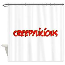 Creepylicious Shower Curtain