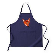 Winking Fox Apron (dark)