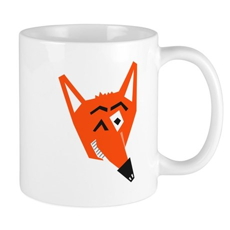 Winking Fox Small Mug