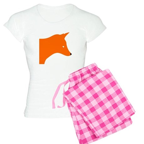 Orange Fox pajamas