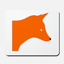 Orange Fox Mousepad