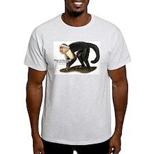 White-Headed Capuchin T-Shirt