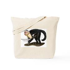 White-Headed Capuchin Tote Bag