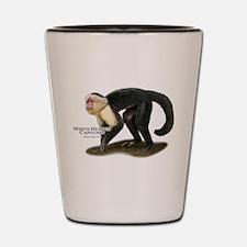 White-Headed Capuchin Shot Glass