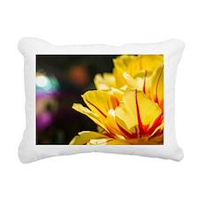 Tulips in the Sun Rectangular Canvas Pillow