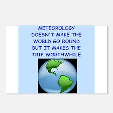 meteorology Postcards (Package of 8)
