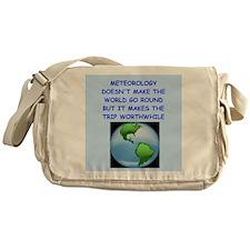 meteorology Messenger Bag