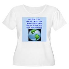 meteorology Plus Size T-Shirt