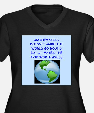 mathematics Plus Size T-Shirt