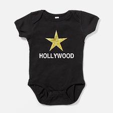 Hollywood California Star Baby Bodysuit