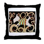 Charlie the Westie Throw Pillow