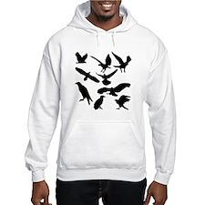 Black Eagles Silhouette Jumper Hoody