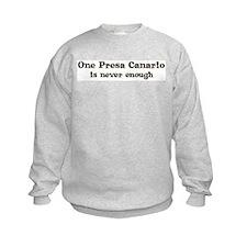 One Presa Canario Sweatshirt