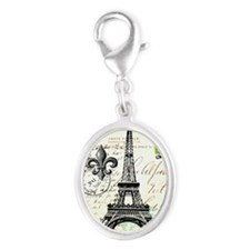 Vintage French Carte Postale Eiffel Tower Charms