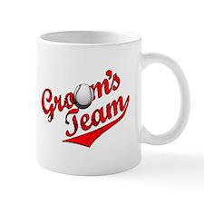 Baseball Groom's Team Mug