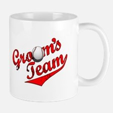 Baseball Groom's Team Mug
