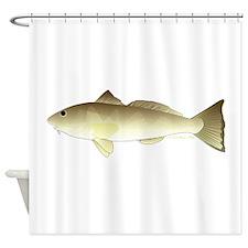 Southern Kingfish Shower Curtain