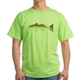 Mullet fish Green T-Shirt