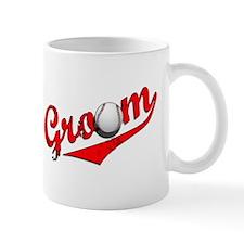 Baseball Groom Mug