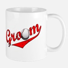 Baseball Groom Mug