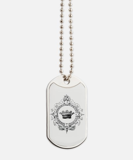 Vintage French crown Dog Tags