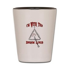 Drum Line - Marching Band Shot Glass