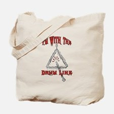 Drum Line - Marching Band Tote Bag