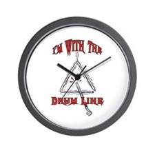 Drum Line - Marching Band Wall Clock